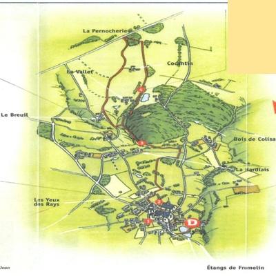 Circuit de 11,5 km- Sur les traces du train des Côtes du Nord