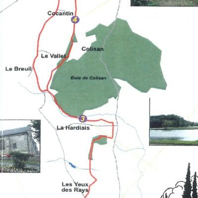 Circuit de 12 km - Sur les traces du train des Côtes du Nord