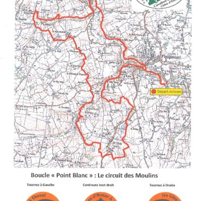 Randonnée équestre : circuit des Moulins (25 km)
