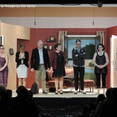 Troupe de théâtre la Clé Verte : photos des représentations