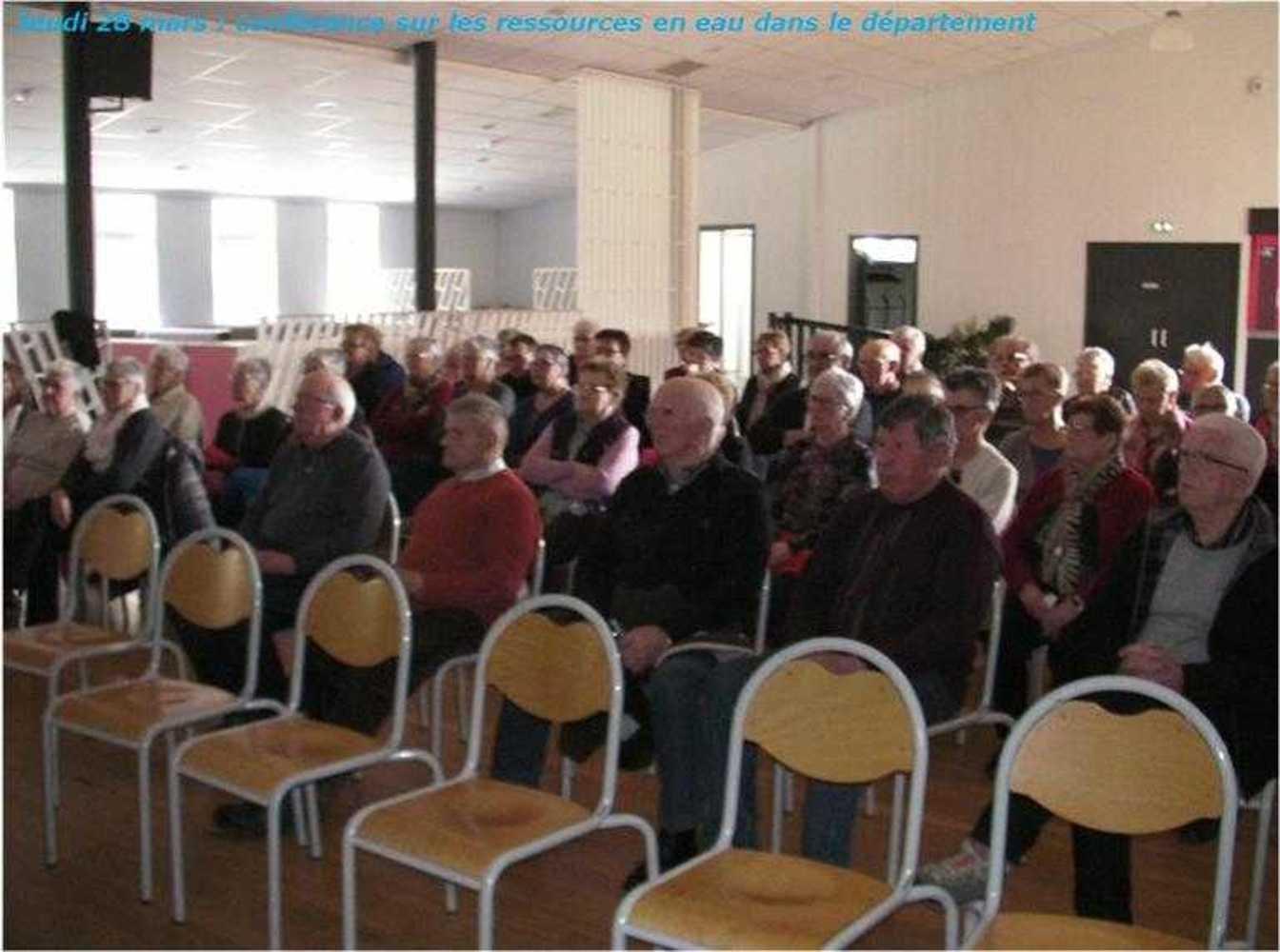 Les Aînés du Lié : photos de la conférence sur l''eau image29