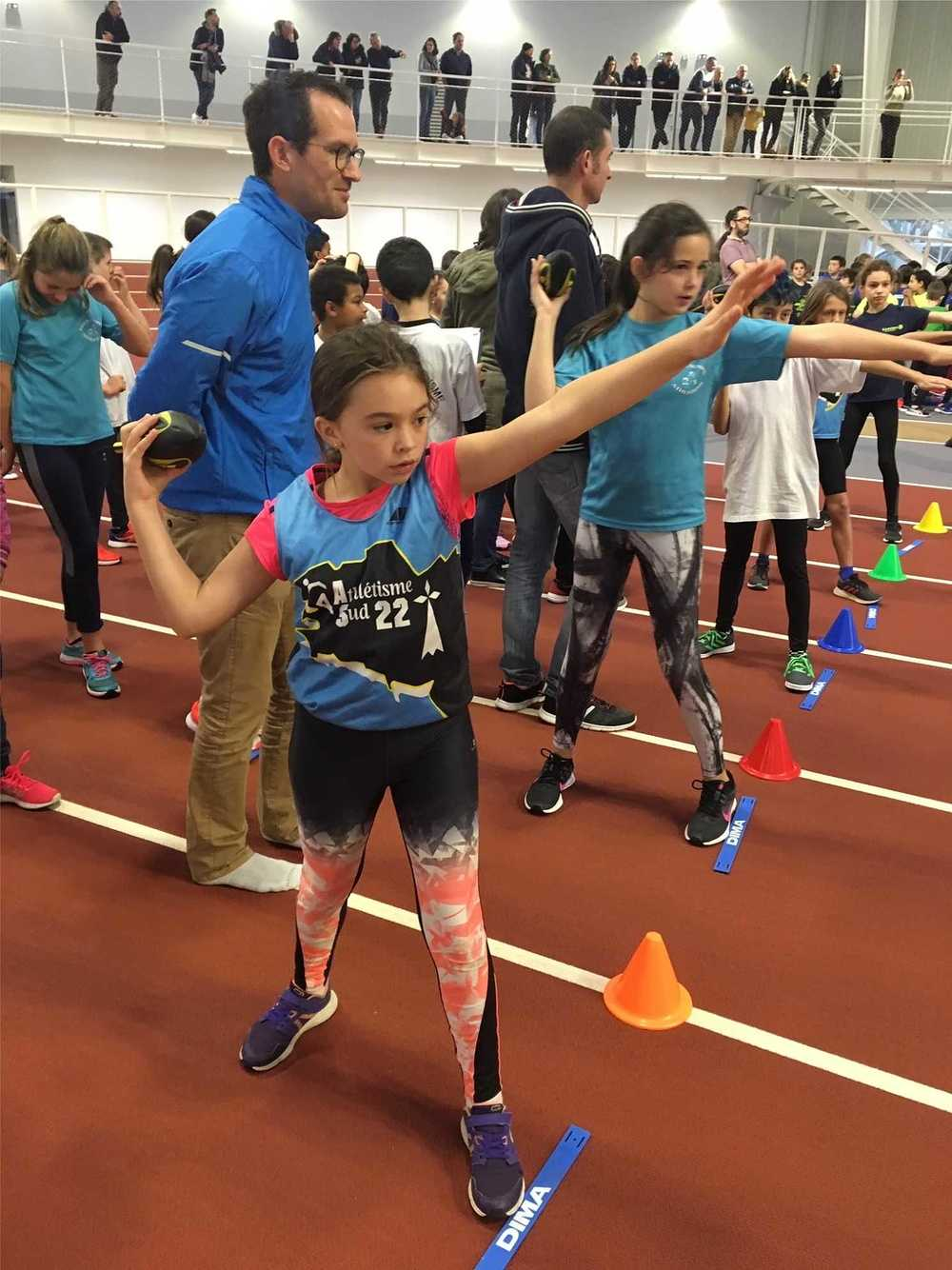 JSP Athlétisme : photos de la rencontre départementale image1