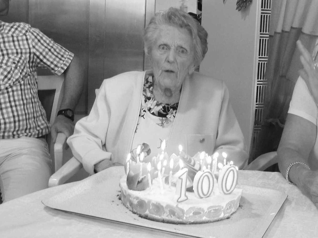 Résidence Kermaria - 100 ans de Mme Eugénie Toutain 100ans5