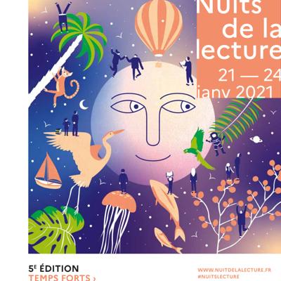 5ème ÉDITION - NUITS DE LA LECTURE