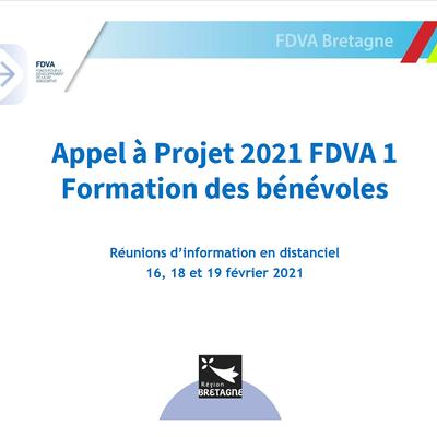 Appel à projet FDVA 1 - Formation des bénévoles