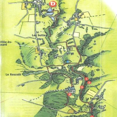 Circuit de 13 km - Vers la Roche-au-cerf