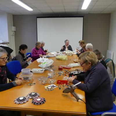 Le Club des Doigts Agiles prépare le Téléthon