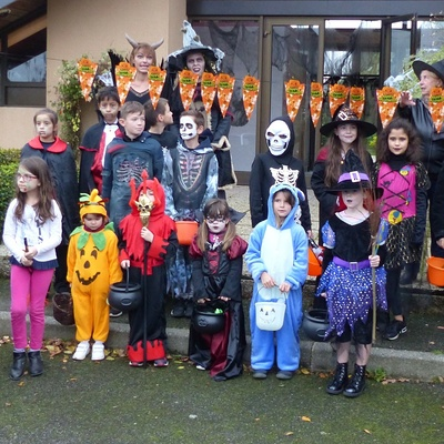 Comité des fêtes : photos d''Halloween