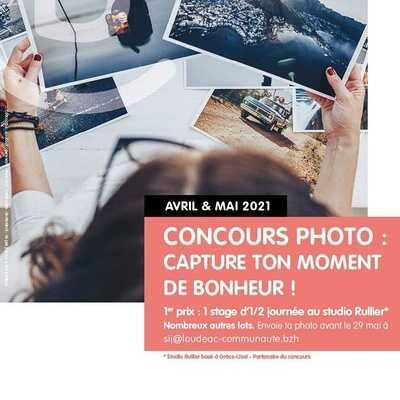 """Concours photo - SIJ """"Capture ton moment de bonheur"""" 11 à 25 ans"""