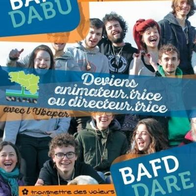 Continuez ou commencez votre formation BAFA ou BAFD avec l''UBAPAR / Calendrier des stages BAFA-BAFD 2021