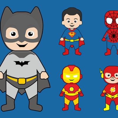 Cybercommune : atelier super-héros