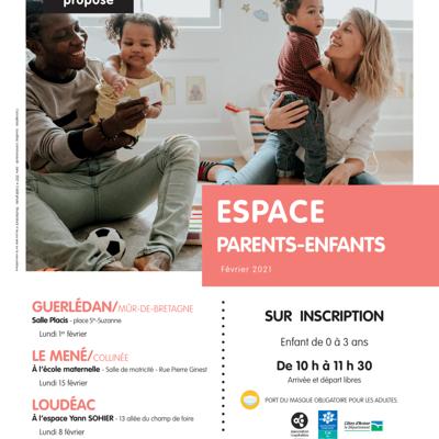 Espace Parents-Enfants  Février 2021 - Organisé par le RPAM du CIAS