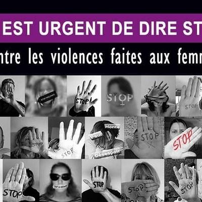 Il est urgent de dire STOP contre les violences faites aux femmes