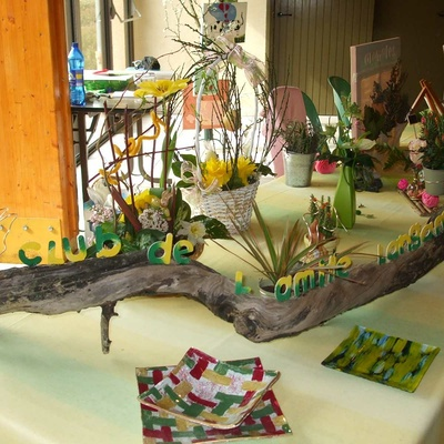 Exposition du Club de l''Amitié aux étangs de Fromelin