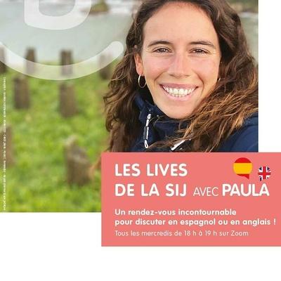 Les Lives de la SIJ avec Paula
