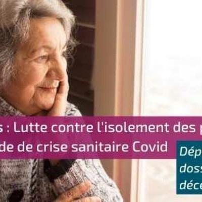 Lutte contre l''isolement des personnes âgées