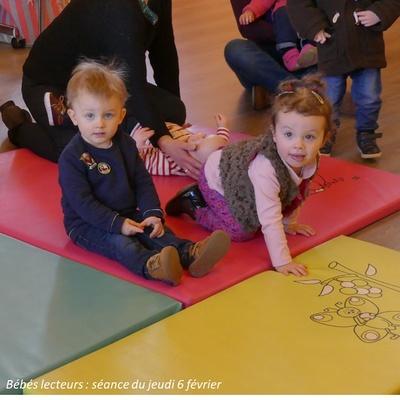 Photos séance bébés lecteurs du 6 février