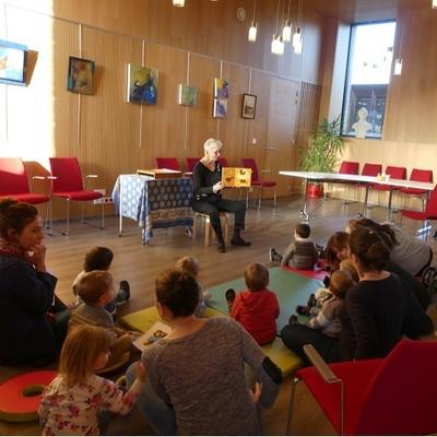 Photos de la séance bébés lecteurs du 14 novembre