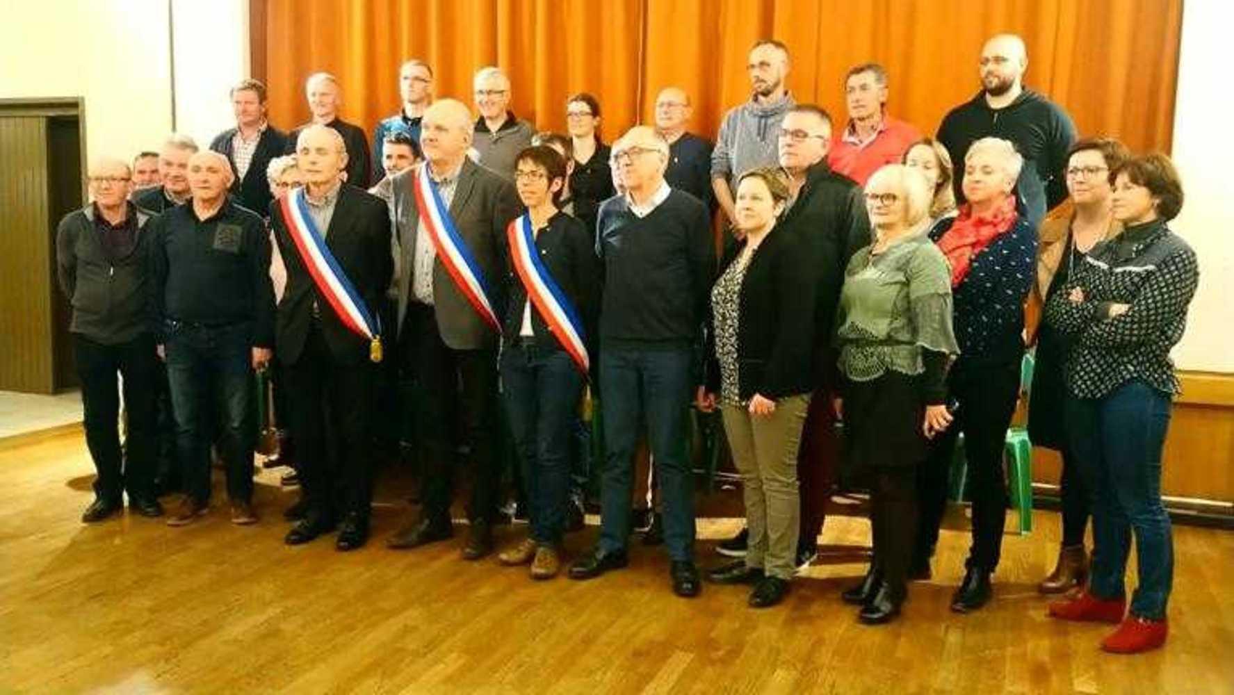Élections du Maire de la Commune Nouvelle et des Maires délégués photocompresseeconseilnouvellecommune