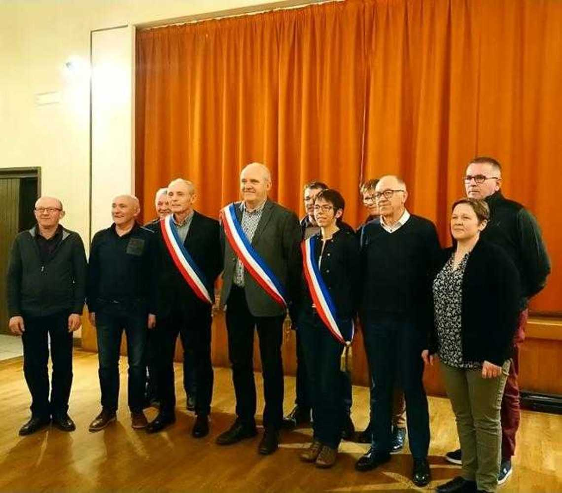Élections du Maire de la Commune Nouvelle et des Maires délégués photocompresseemaireetadjoint