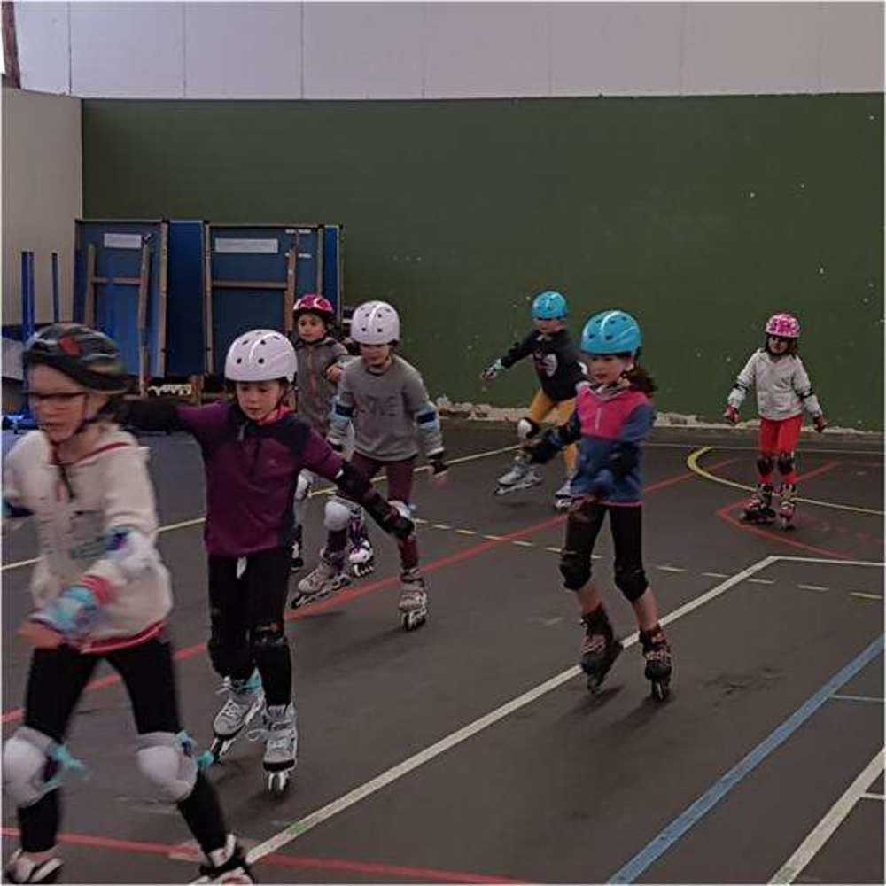 Cap Sports : photos animations Rollers et Tchoukball photocompressee