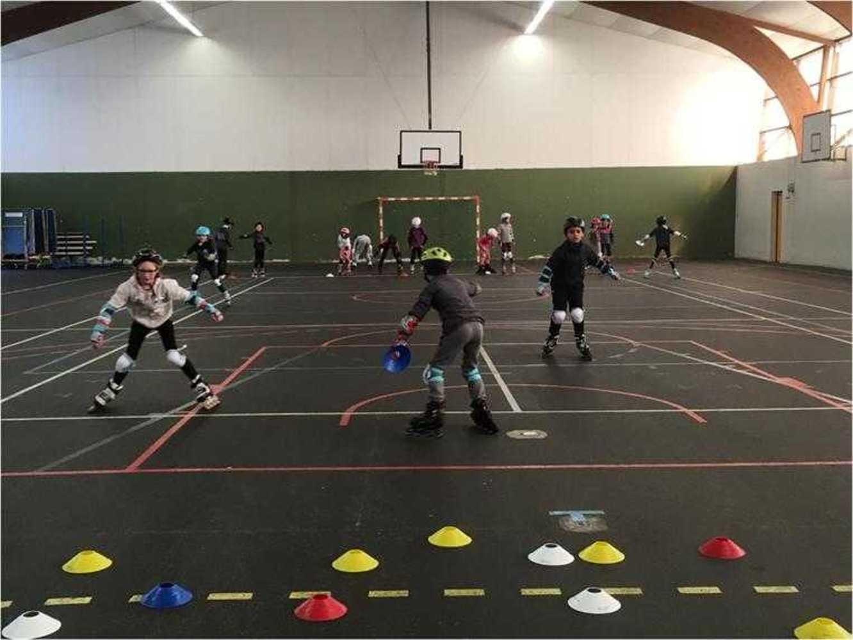 Cap Sports : photos animations Rollers et Tchoukball photosemilie1