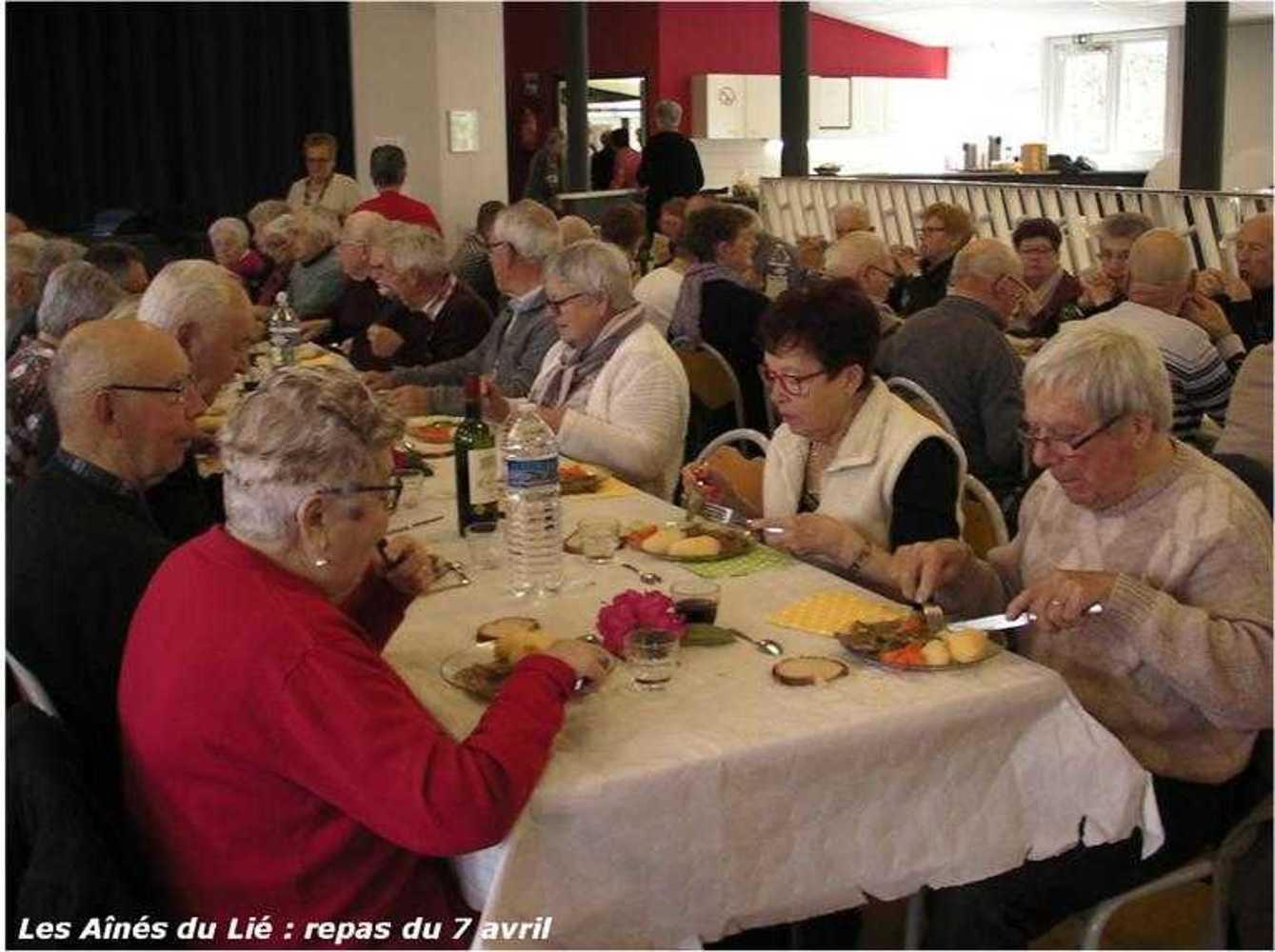 Les Aînés du Lié : photos du repas langue de boeuf image39