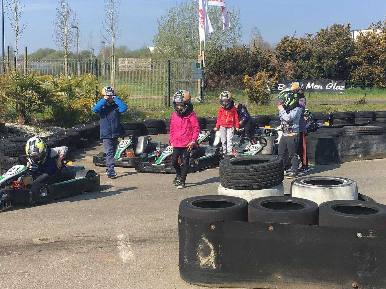 Cap Sports : photos de la sortie karting image11