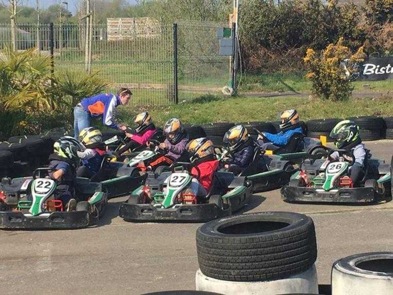 Cap Sports : photos de la sortie karting image4