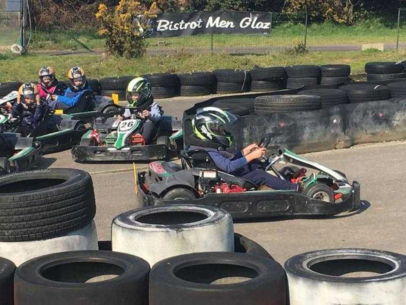 Cap Sports : photos de la sortie karting image5