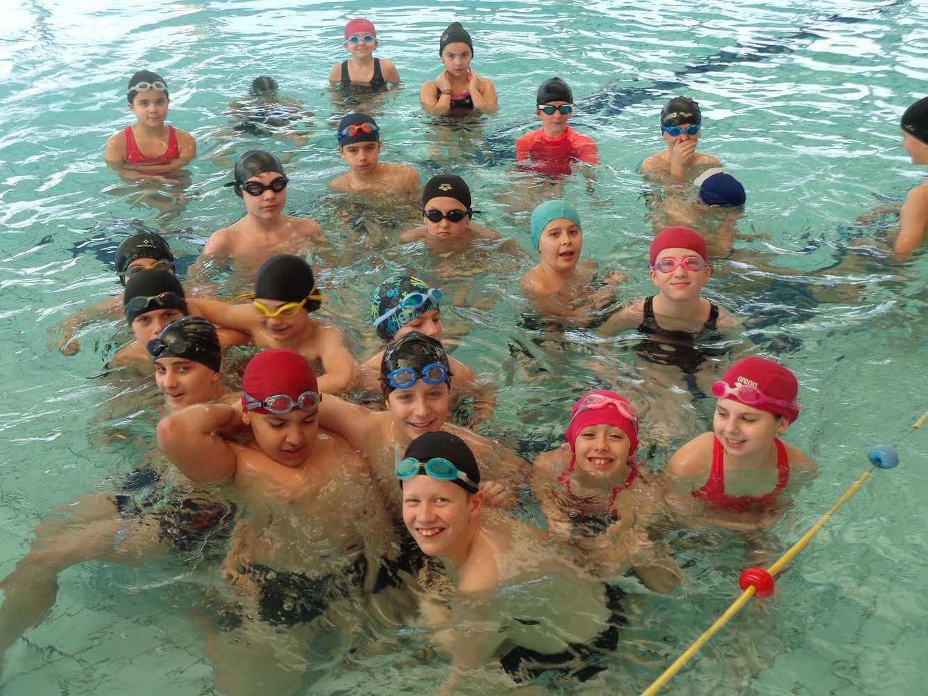 Séances de piscine pour les 6ème piscine