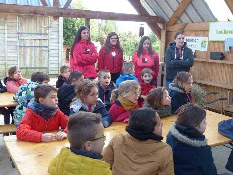 Photos de la visite de la ferme pédagogique de Saint-Fiacre image3