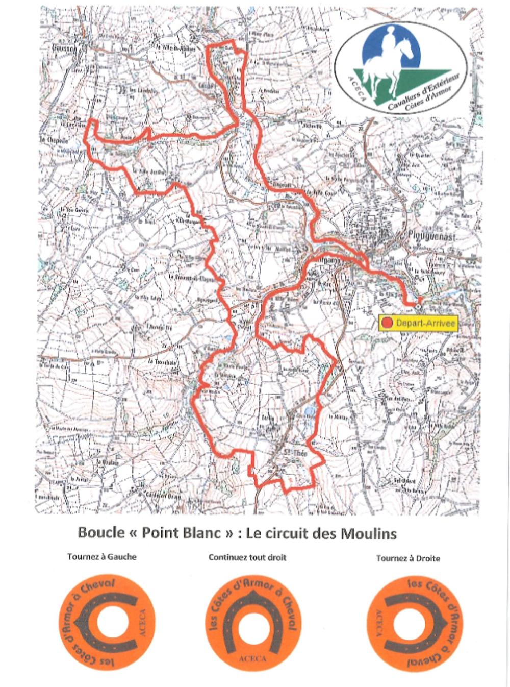 Randonnée équestre : Circuit des Forêts (30 km) 0