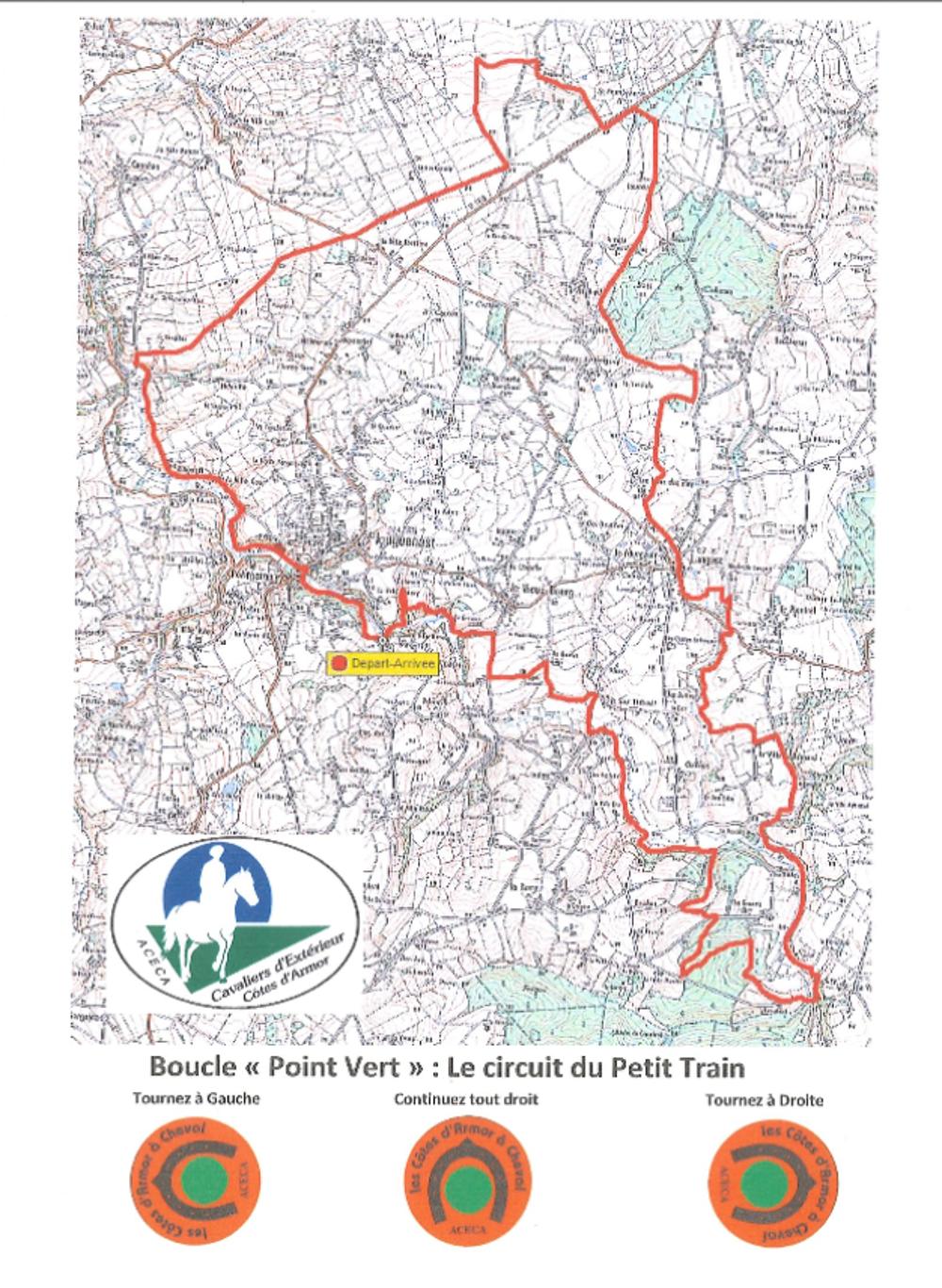 Randonnée équestre : circuit du Petit Train ( 31 km) 0