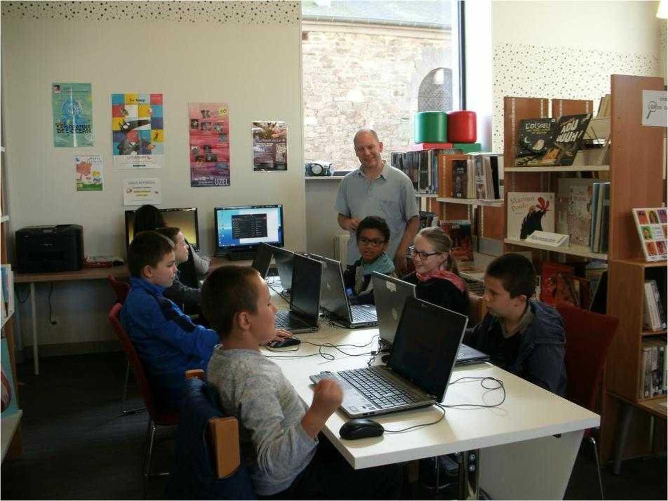 Cybercommune : atelier jeux vidéos cybercomunne8