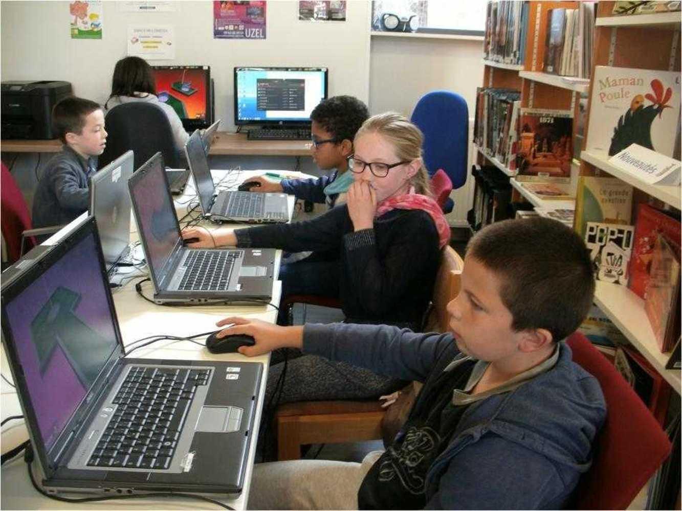 Cybercommune : atelier jeux vidéos image17