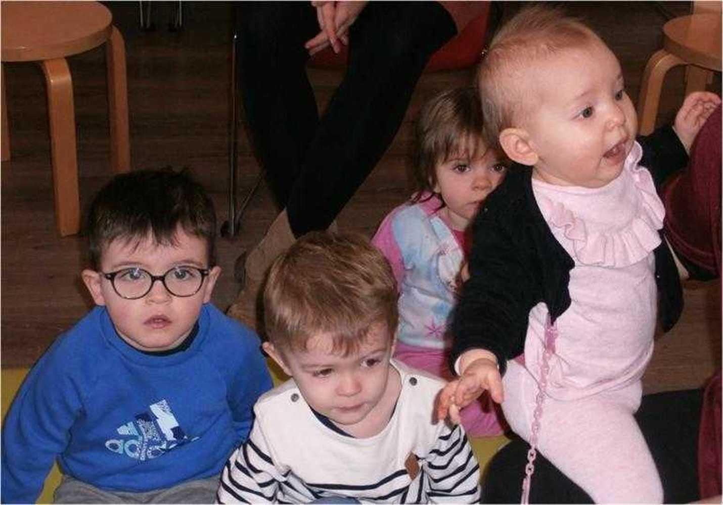 Photos des bébés lecteurs - Séance du 10 janvier image2