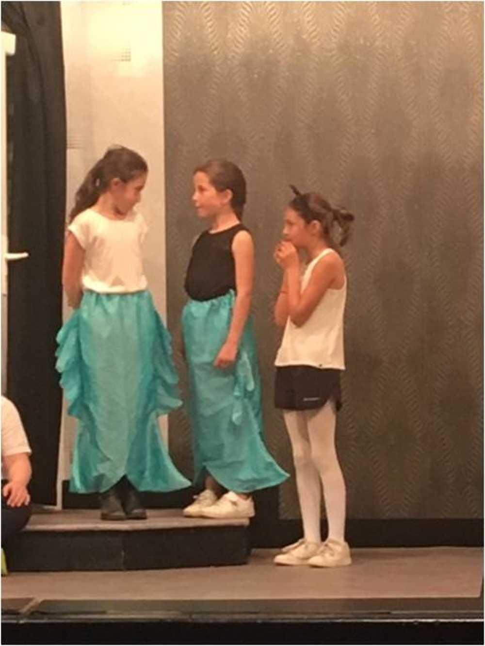 Familles Rurales : photos de la représentation de l''atelier théâtre jeune image4