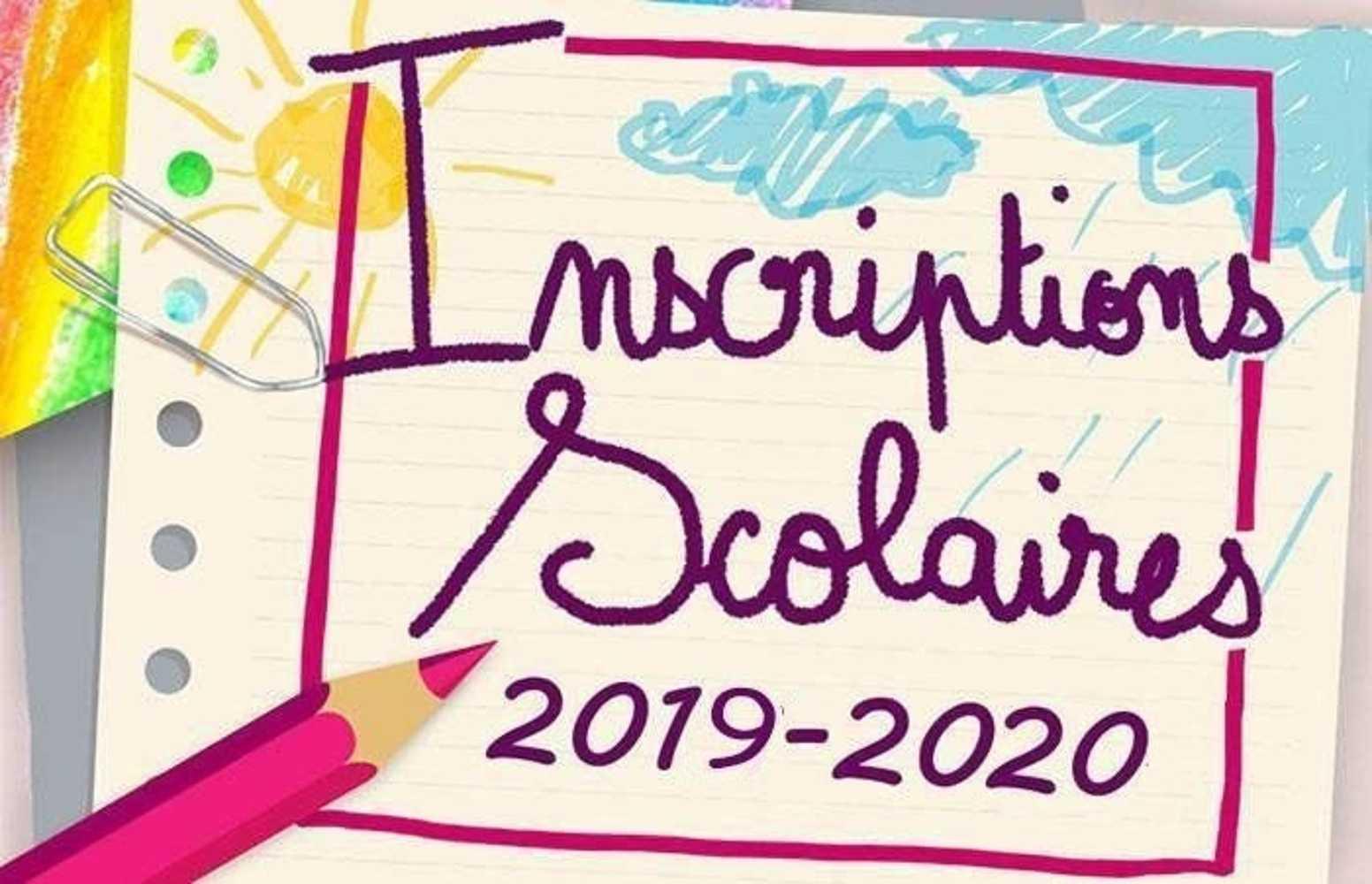 Inscriptions à l''école - Rentrée 2019-2020 0
