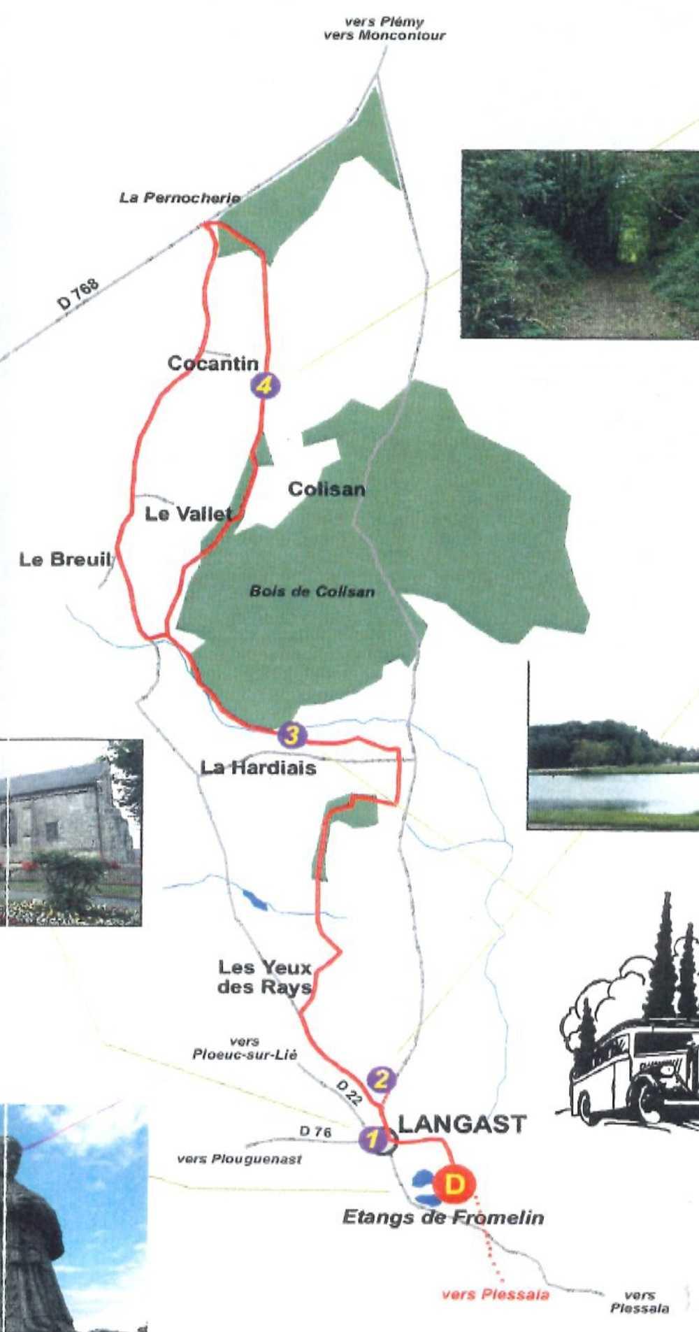Circuit de 12 km - Sur les traces du train des Côtes du Nord 0