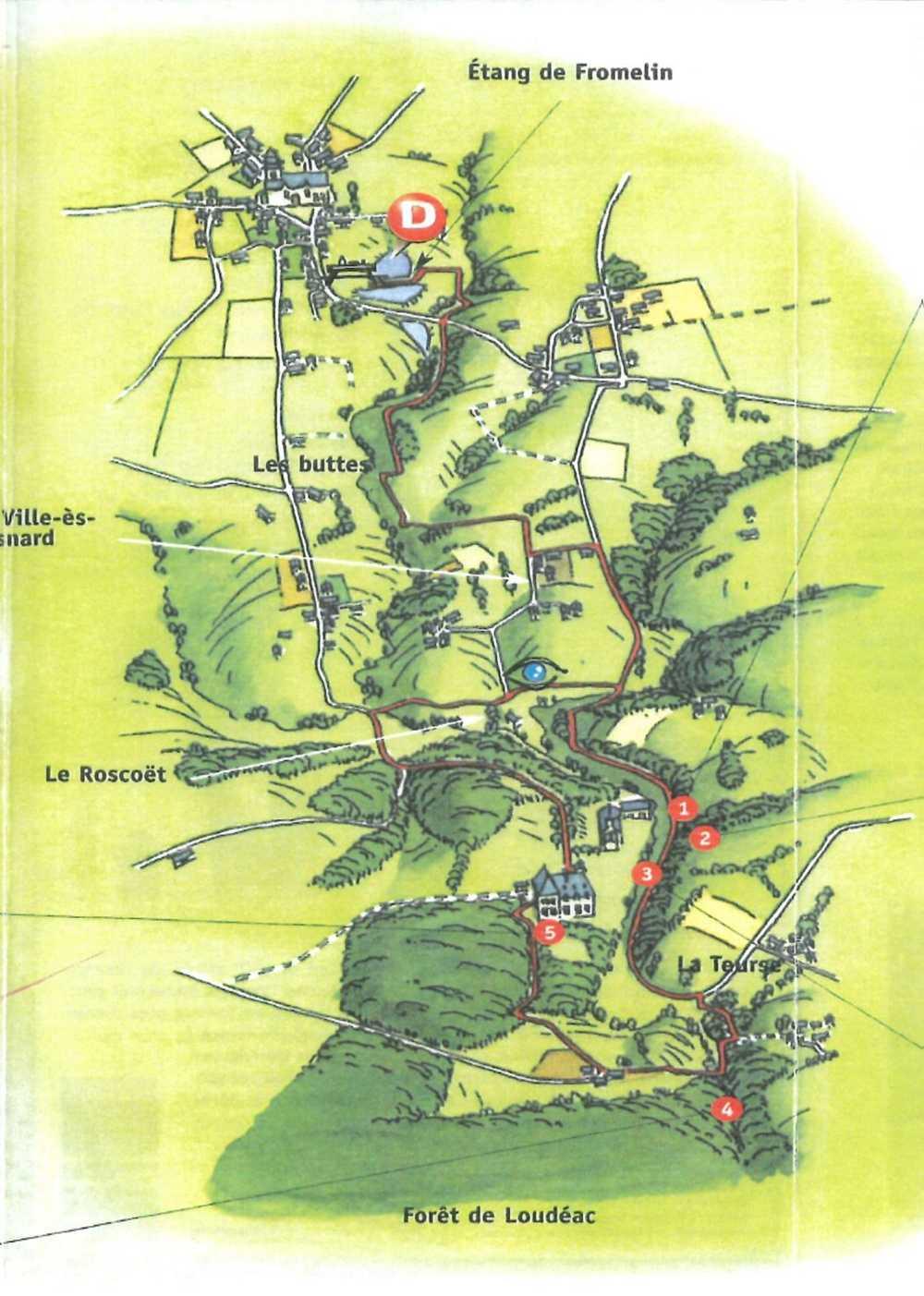 Circuit de 13 km - Vers la Roche-au-cerf 0