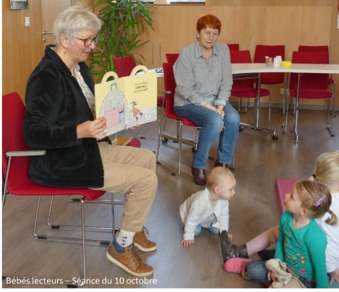 Bébés lecteurs : photos de la séance du jeudi 10 octobre image1