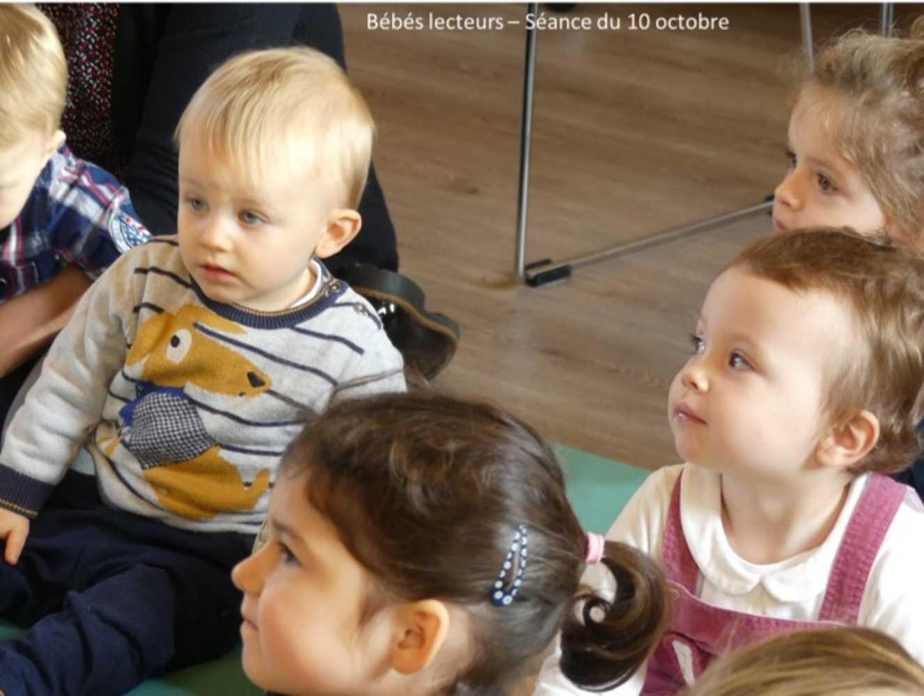 Bébés lecteurs : photos de la séance du jeudi 10 octobre image3