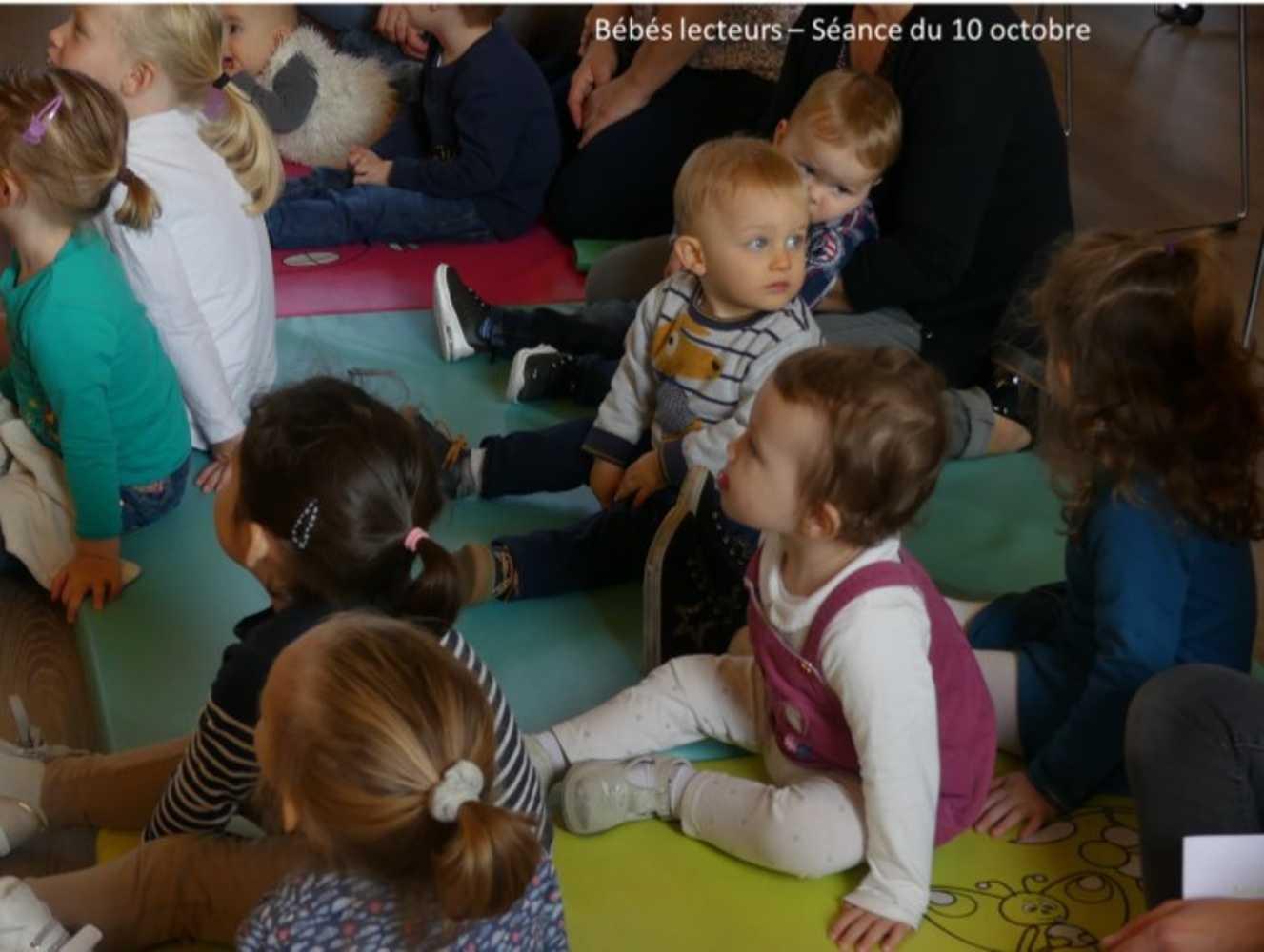 Bébés lecteurs : photos de la séance du jeudi 10 octobre image5
