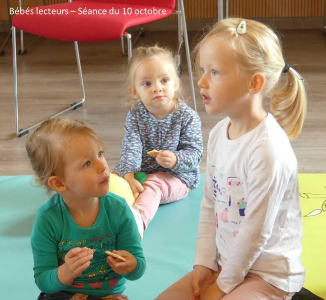 Bébés lecteurs : photos de la séance du jeudi 10 octobre image6