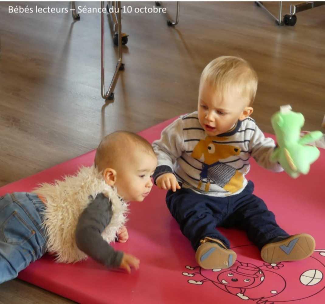 Bébés lecteurs : photos de la séance du jeudi 10 octobre image7
