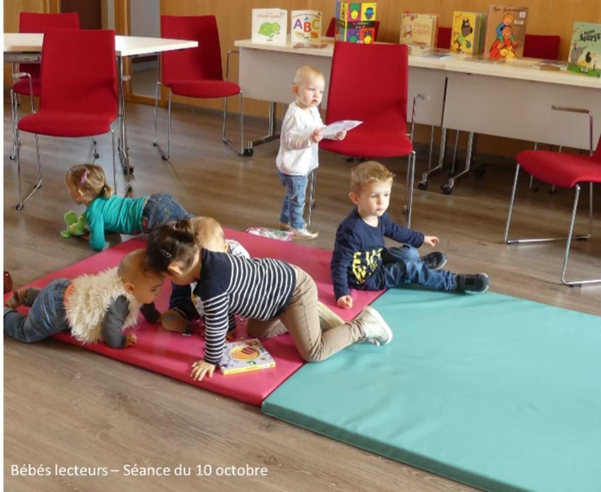 Bébés lecteurs : photos de la séance du jeudi 10 octobre image8