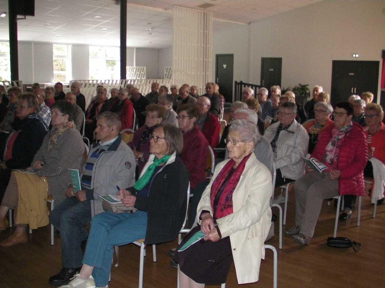 Les Aînés du Lié : photos de l''assemblée générale et de la conférence CPAM sany00041