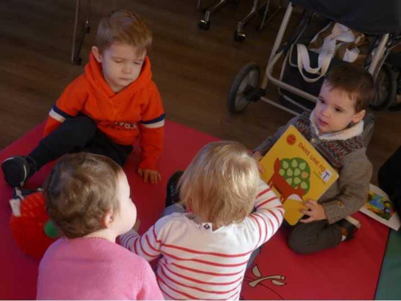 Photos de la séance bébés lecteurs du 14 novembre image8