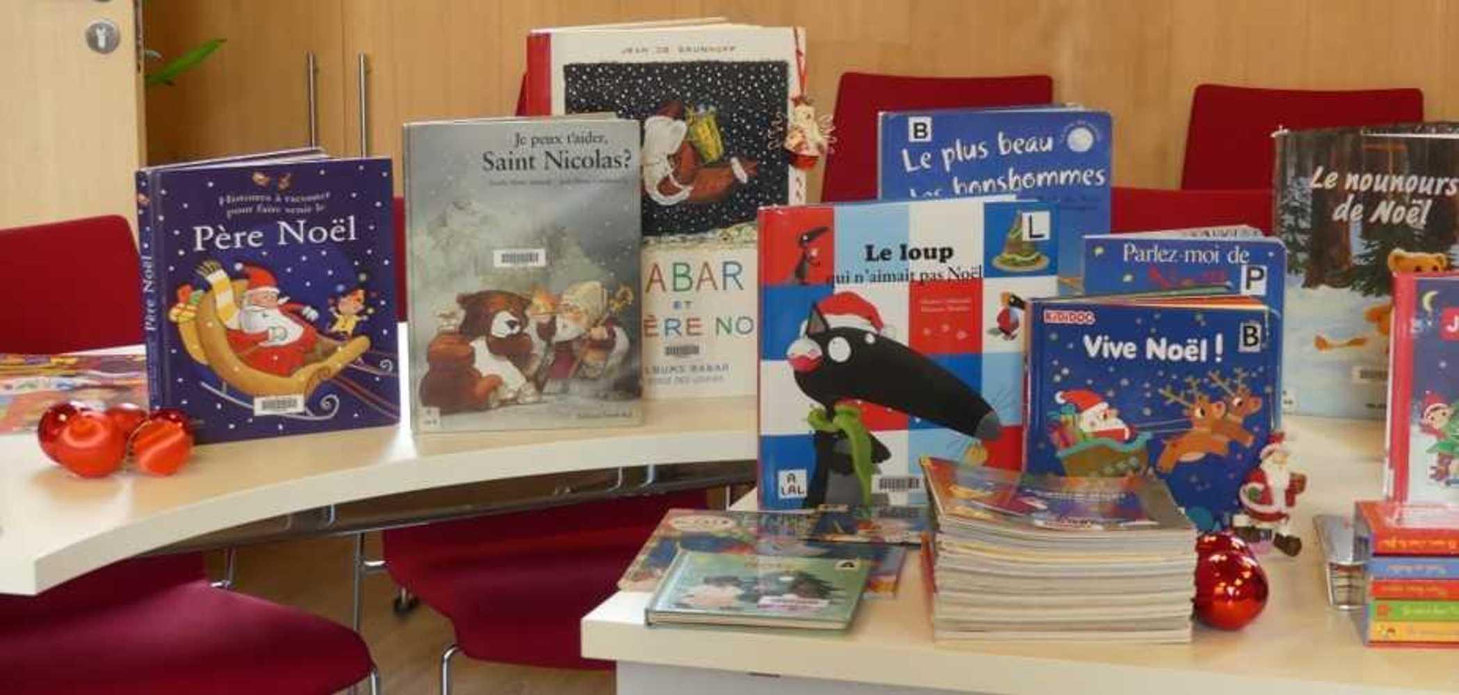 Bibliothèque : les livres de Noël sont arrivés. photopourlesite2